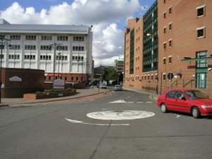 mini-roundabout